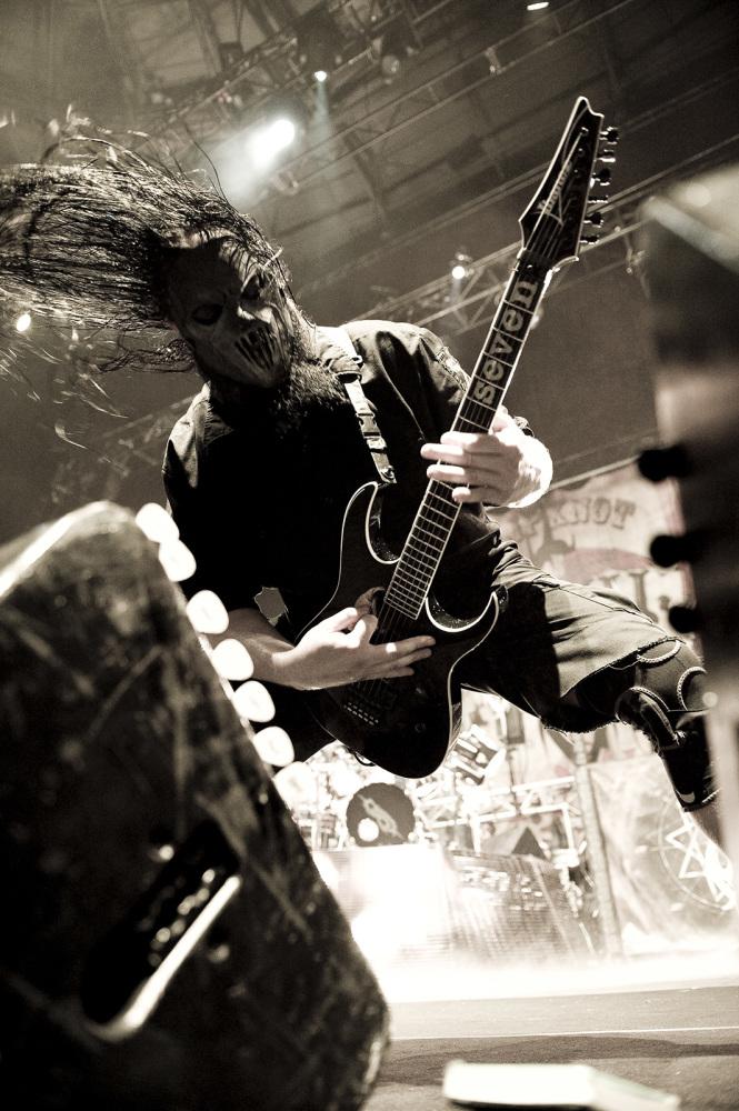 Mick Thomson of Slipknot